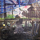 Flamingo, 2011 \ Oil and acrylic paint on canvas, 169 x 134 cm